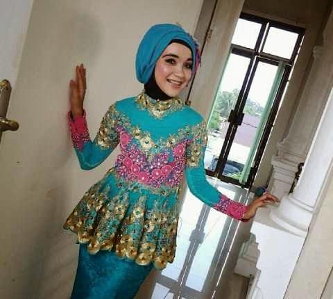 hijab pesta modern