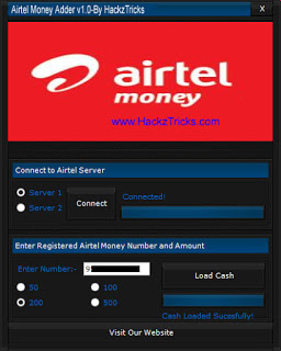 Airtel money adder
