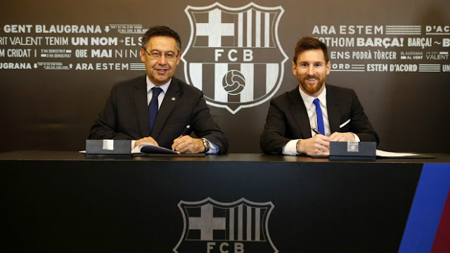 Nuôi Messi 100 triệu euro/năm gấp đôi Ronaldo: Barcelona nguy cơ phá sản 1