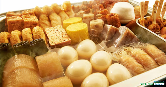 "Let you feel warm with ""Oden"""