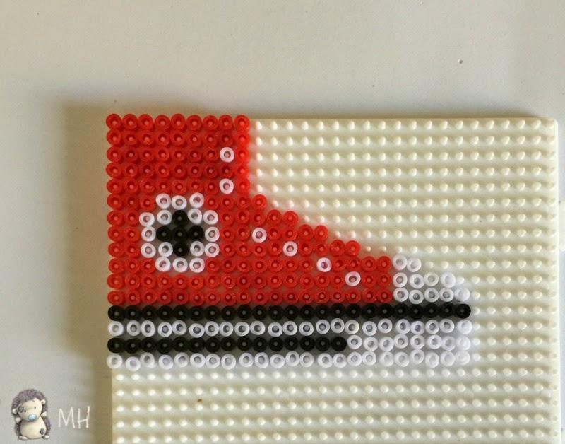 Converse de hama beads