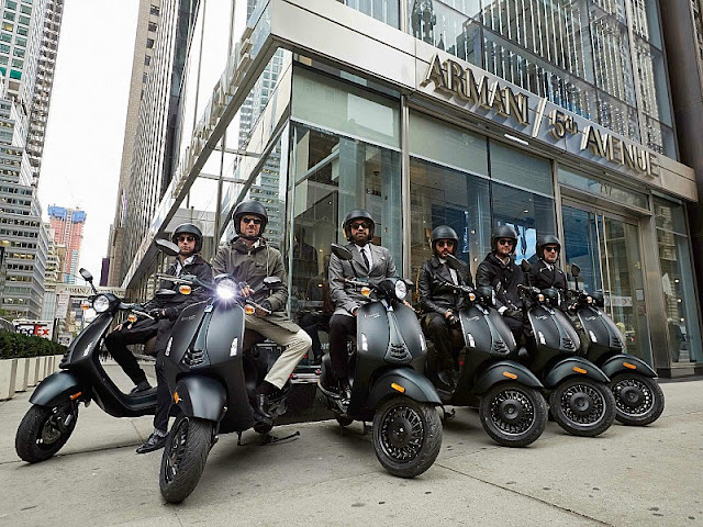 The Vespa 946 Takes Manhattan