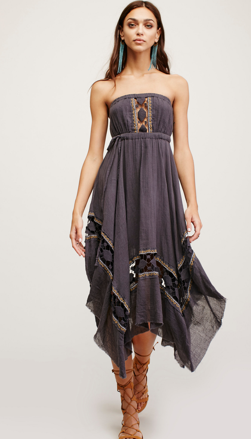 Free People-One Rio Midi Dress