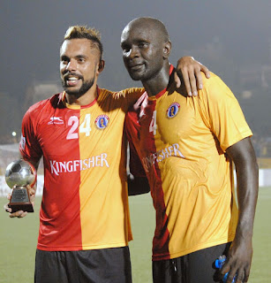 Bengaluru FC beaten by East Bengal