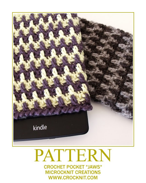 crochet patterns, how to crochet, cosy, pocket, kindle covers,