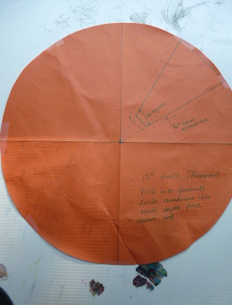 how to make a dresden plate template - sewing quilt gallery dresden plates the pattern the