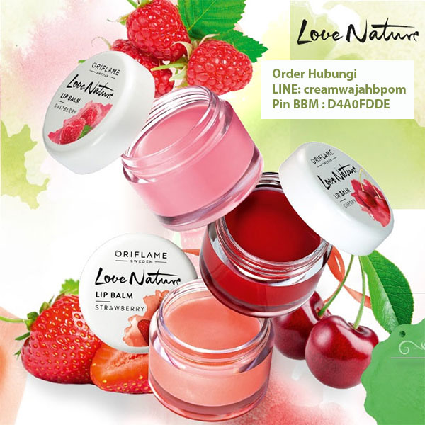 Lip Balm Love Nature Oriflame