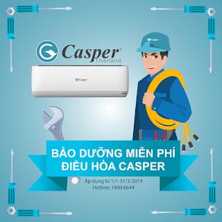 bảo dưỡng điều hòa casper