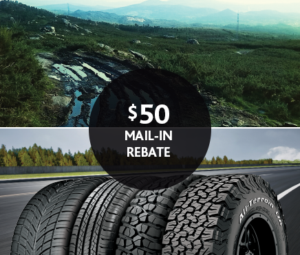 Discount Tire Centers offers top manufacturer rebates in all 35 locations of our California stores. Save hundreds on tires with these exclusive and mail-in rebate deals today.