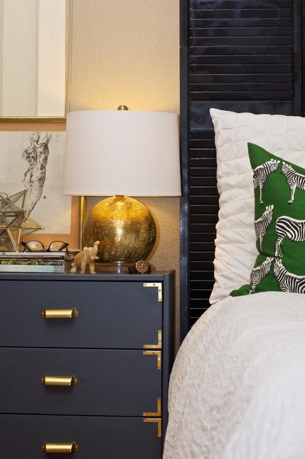 IKEA dresser turned campaign dresser
