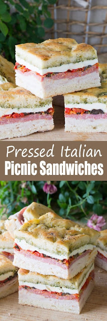 Pressed Italian Picnic Sandwiches