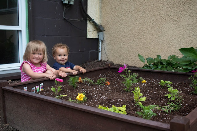 A look at our children's garden and some practical tips to make this a success with your child