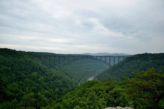 Міст Нью-Рівер-Гордж, Західна Вірджинія (New River Gorge Bridge, WV)