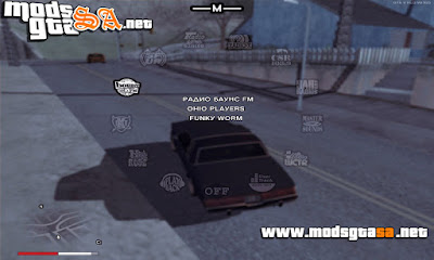 Novo Modelo do HUD GTA V para GTA SA