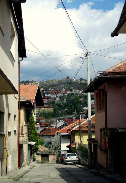 Dead End Street in Sarajevo, Bosnia & Herzegovina