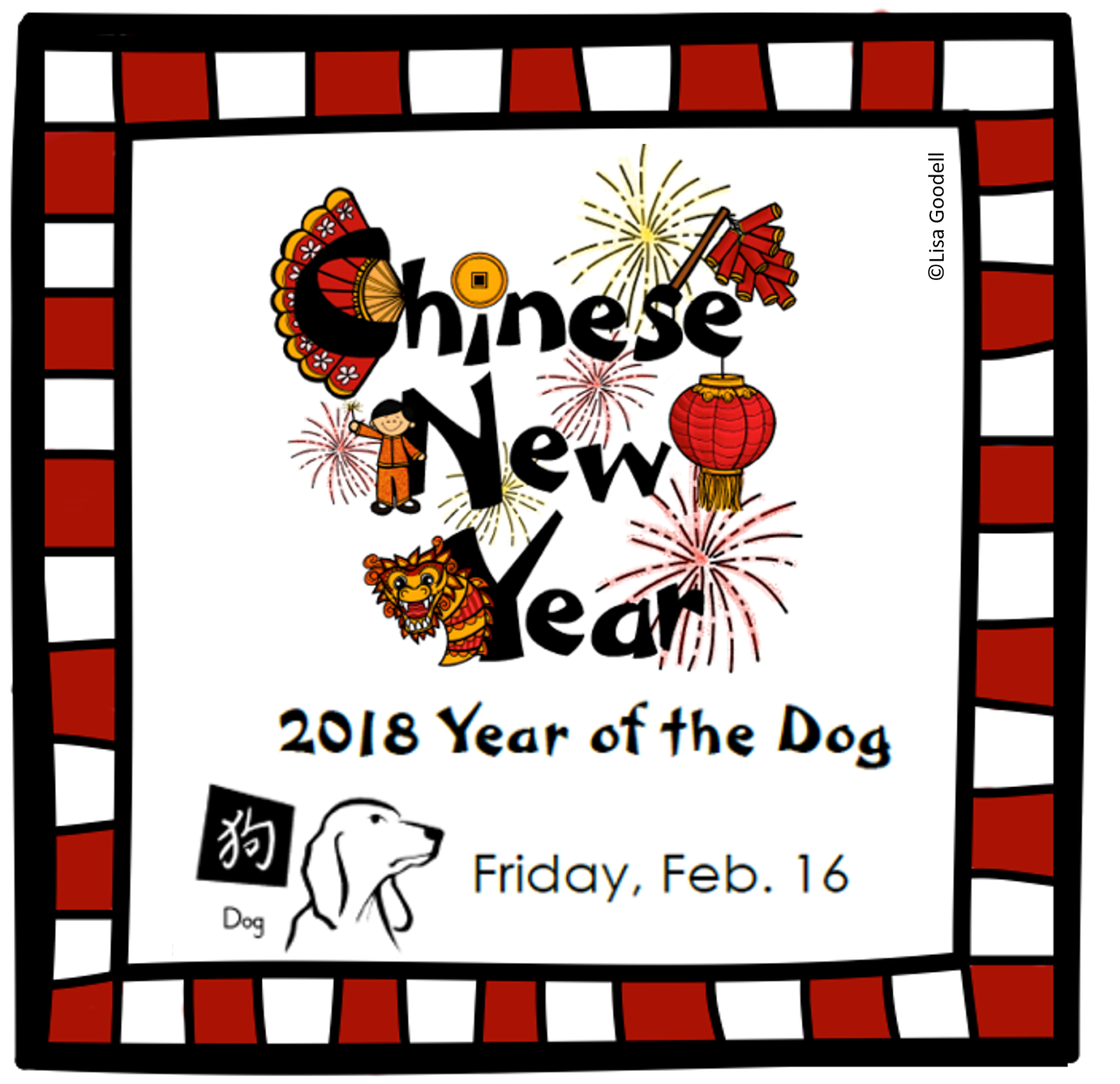 Lisa Goodell Activities For Chinese New Year In Your Class