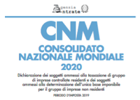 Aggiornamento software CNM 2020 1.0.1 per Mac, Windows e Linux