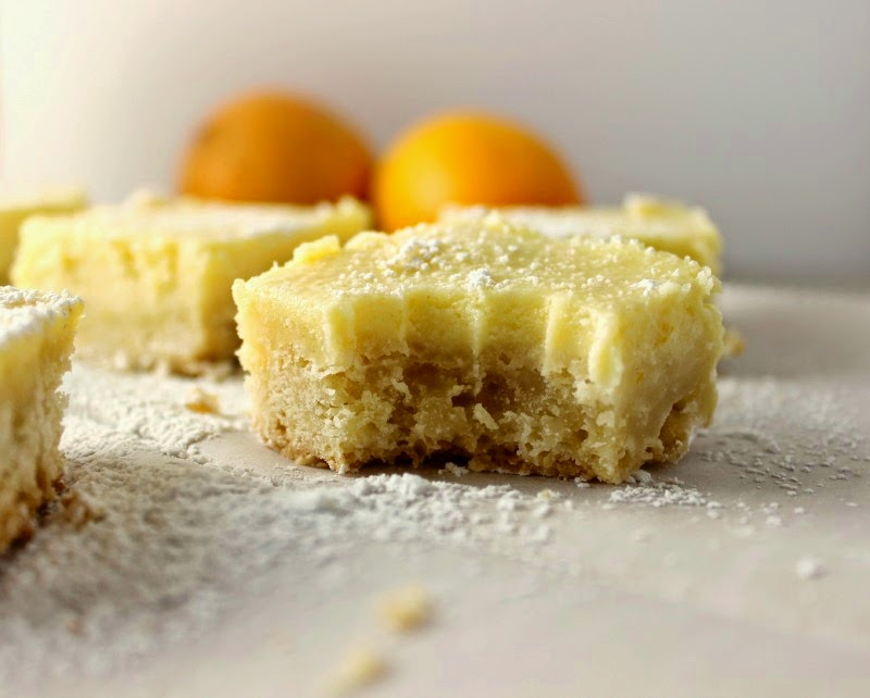 Meyer Lemon Cheese Bars