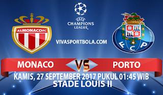 Prediksi Monaco vs Porto 27 September 2017