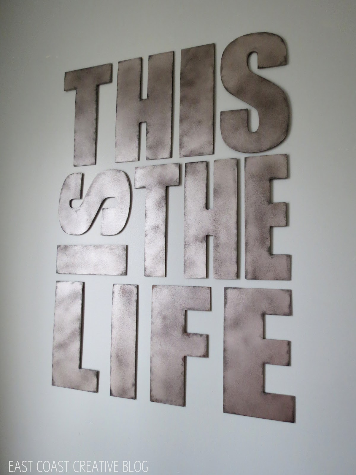 Steel Letters For Walls Metal Letters For Wall Decor At Home And Interior Design Ideas