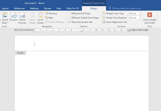 Cara Membuat Kop Surat Dengan Microsoft Word