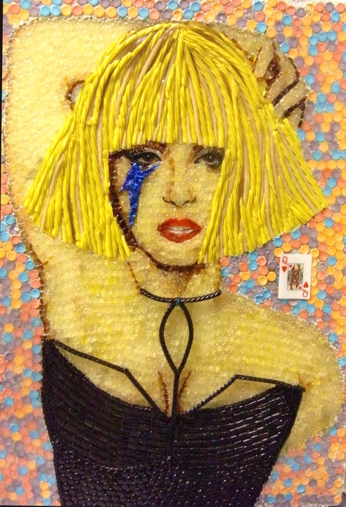09-Lady-Gaga-cristiam-Ramos-Candy-Nail-Polish-Toothpaste-for-Sculptures-Paintings-www-designstack-co