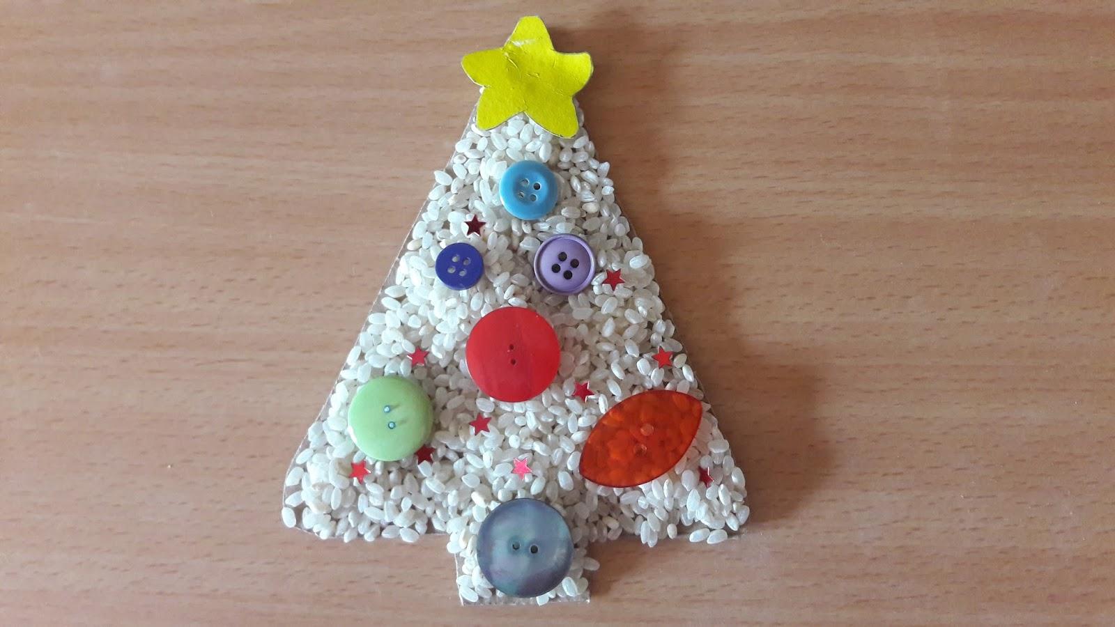 Estremamente Mamme come me: Lavoretti di Natale: Albero di Natale con neve IG56