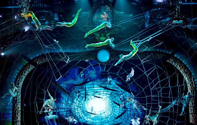 Zarkana show by Cirque du Soleil