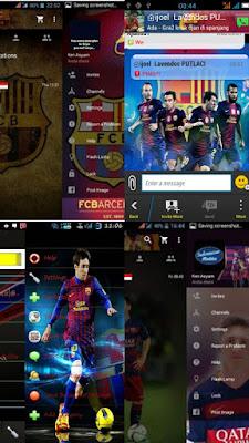 BBM Mod Theme Barcelona FC v2.13.1.14 Apk