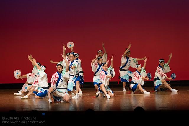 東京新のんき連、セシオン杉並まつりの男踊りの写真 5