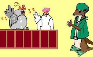 fabula la comadreja y las gallinas enfermas