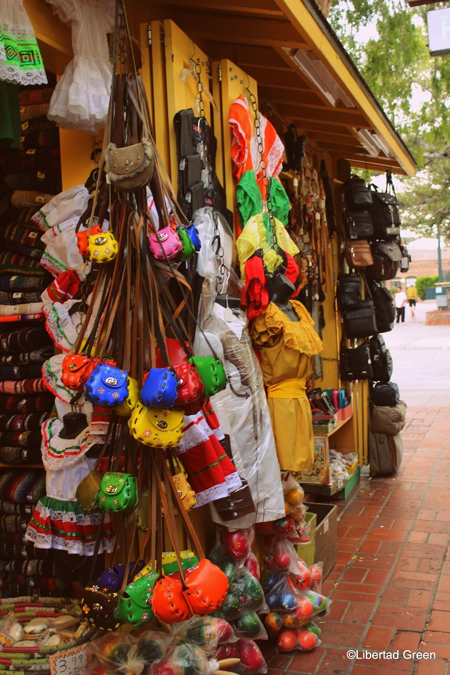 Olvera Street Los Angeles shopping purses