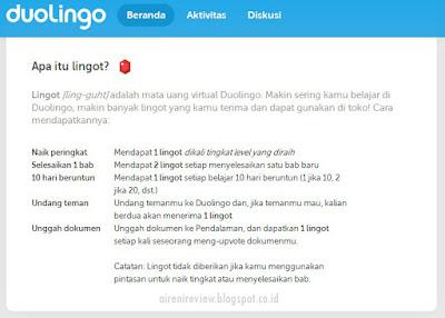Apa itu ligot Dulingo App
