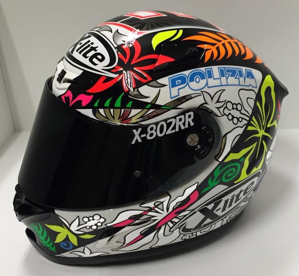 racing helmets garage x lite x 802rr d petrucci 2016 by. Black Bedroom Furniture Sets. Home Design Ideas