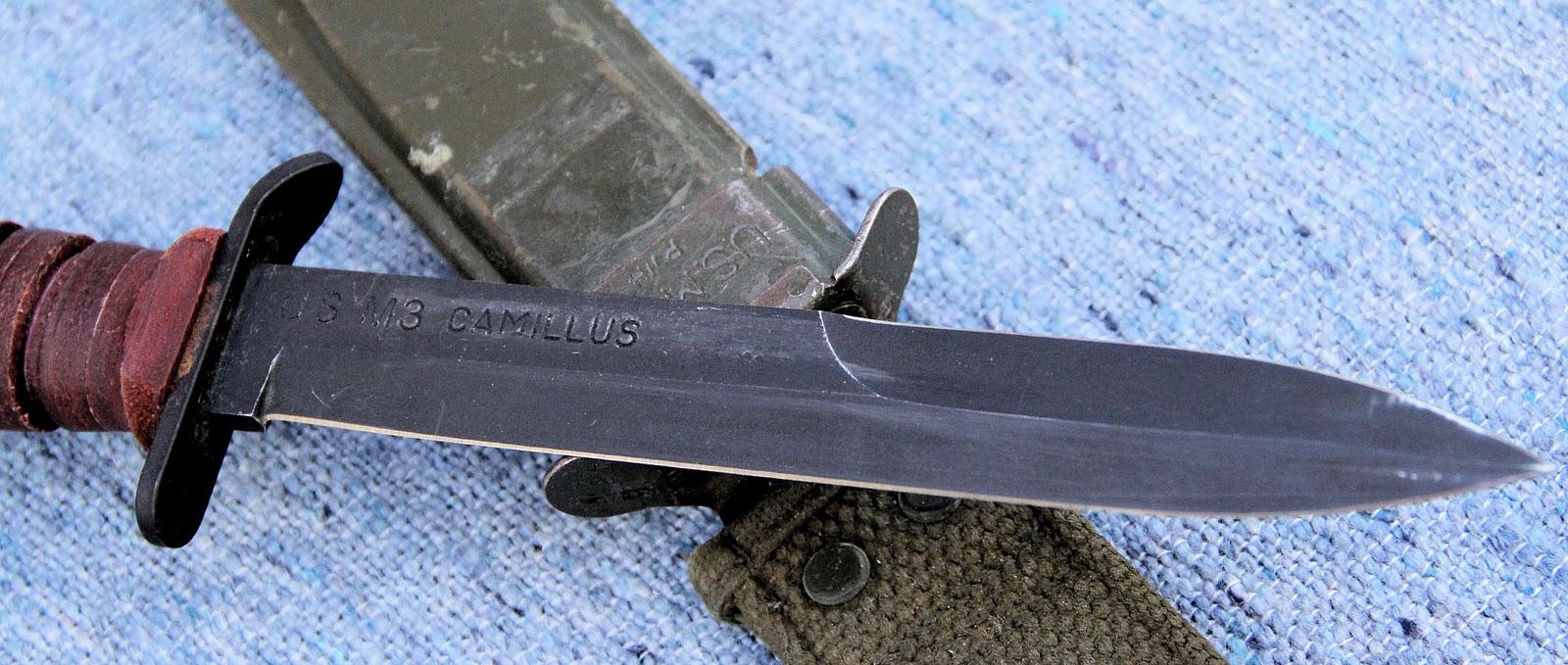 Camillus new york usa marine trench knife dating