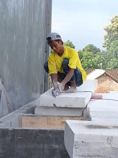 Jual Bata Ringan Kediri, Pemasangan Panel Lantai Di Kediri