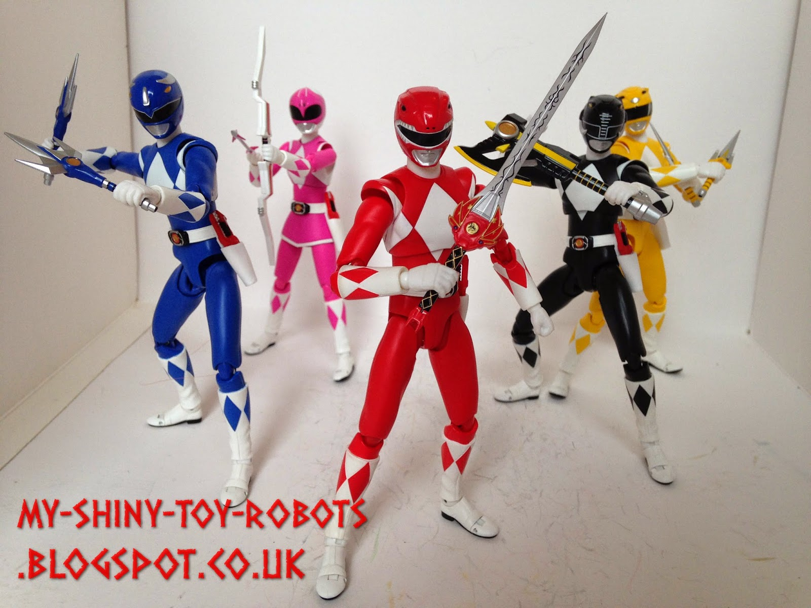 My Shiny Toy Robots: Toybox REVIEW: S H  Figuarts Tiger Ranger