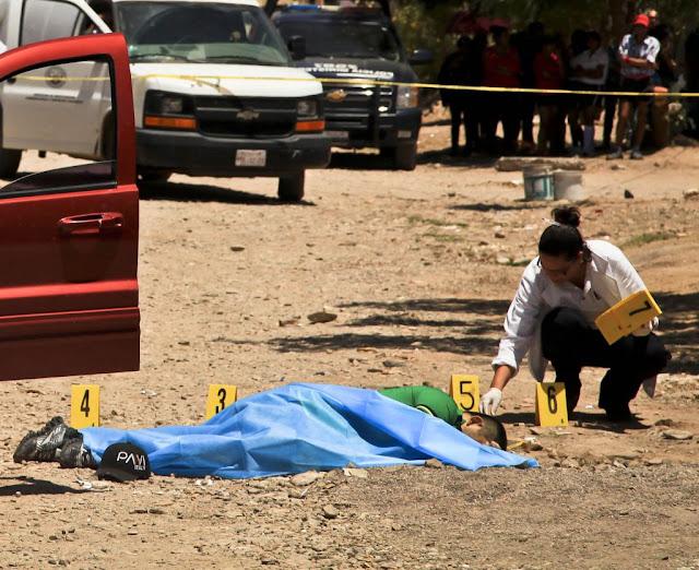 México es el segundo país más mortal del mundo, sólo debajo de Siria... Pero EPN afirma.. 'La crisis está en la mente' de los mexicanos