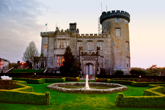 food earl of thomond at dromoland castle ireland the