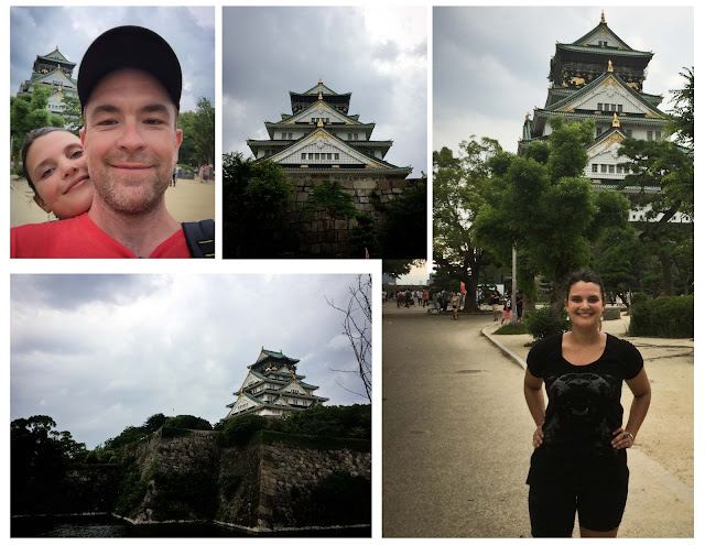 osaka,fortification,parc,japon,chateau