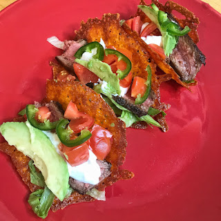 Keto Steak Tacos with Cheese Shells, recipes, keto, ketogenic, ketosis, ketones, low carb, tacos, steak, jaime messina, pruvit, exogenous ketones,