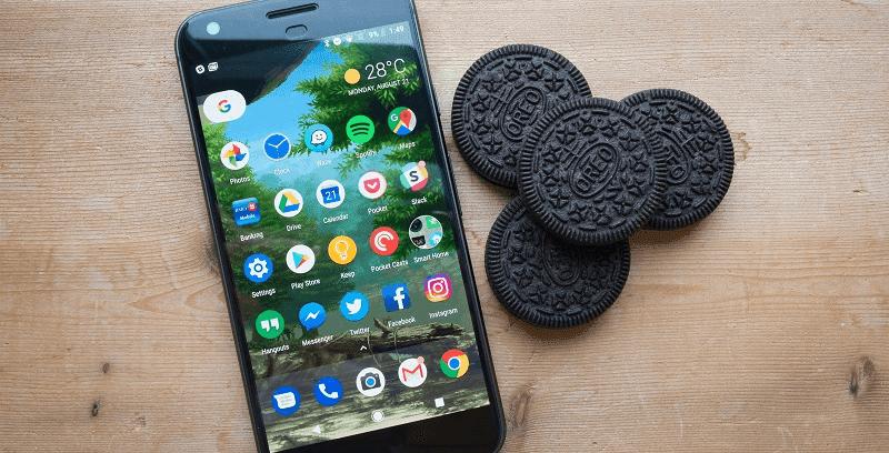 ponsel yang dapat update android 8 oreo
