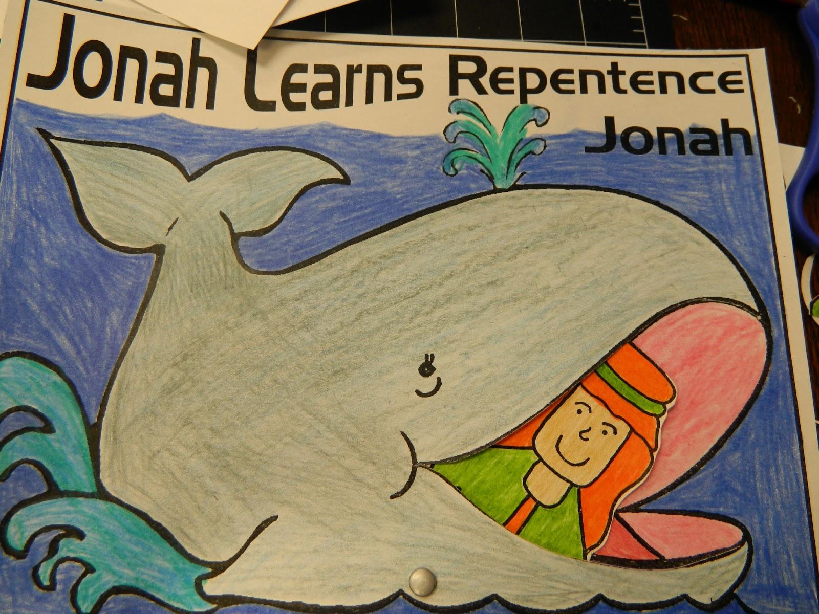 Hands On Bible Teacher A Big Fish Story Jonah The Prophet