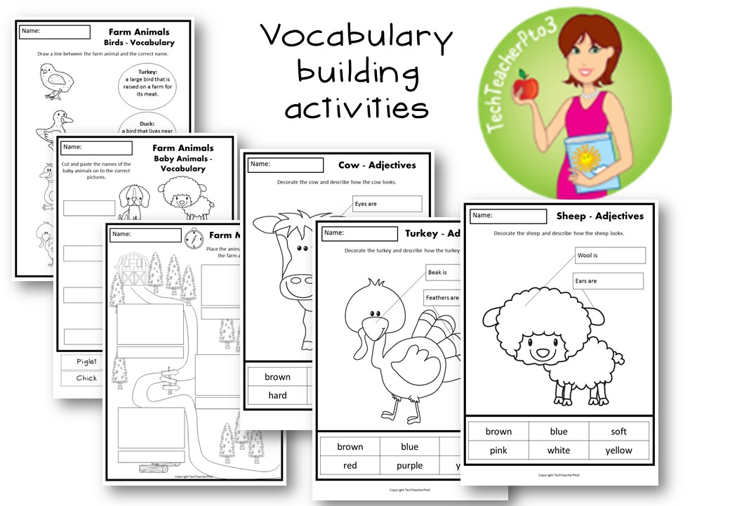 Foundation into First: A farm thematic unit in the classroom