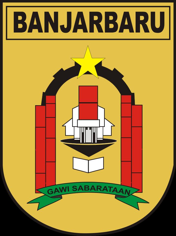 Logo Kota Banjarbaru Kumpulan Logo Lambang Indonesia