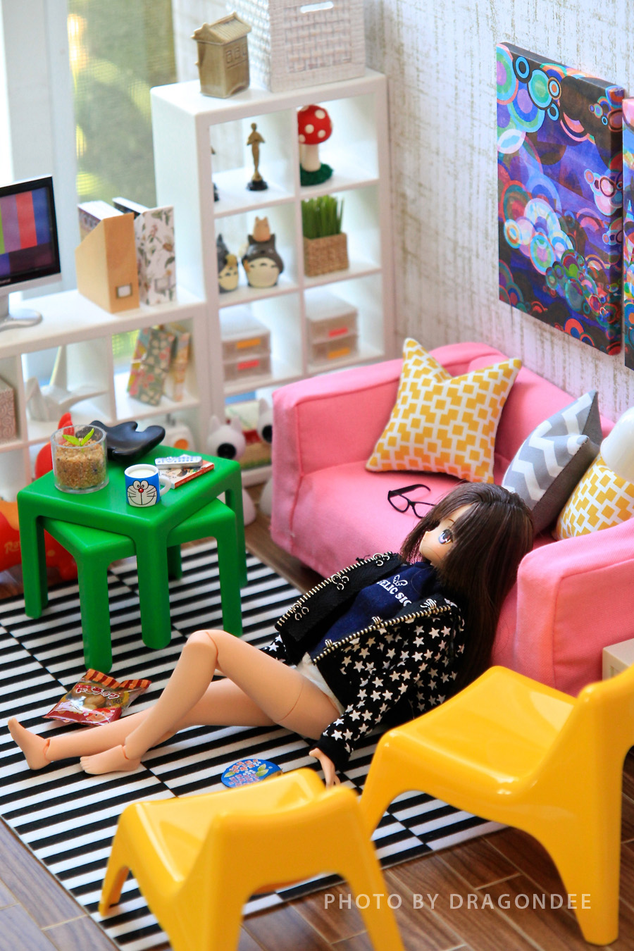Modern Miniatures By Dragondee Ikea Huset Living Room Set