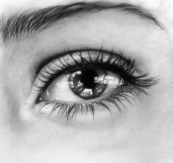 Göz Resmi Nasıl Çizilir