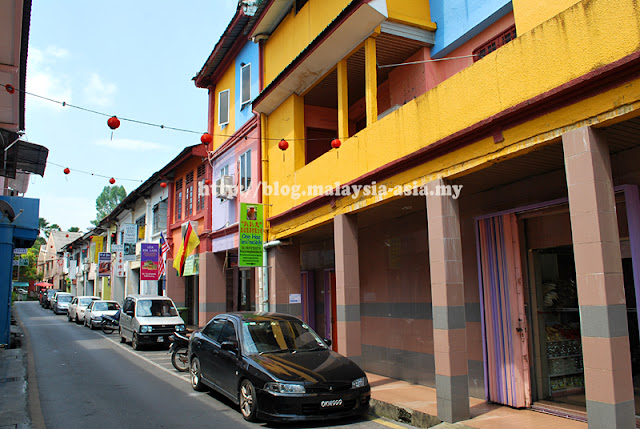 Kuching Carpenter Street