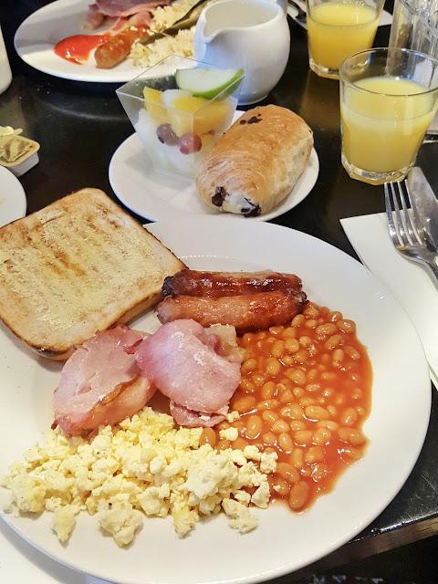 The Village hotel Edinburgh breakfast