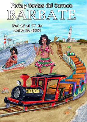 Barbate - Feria y Fiestas del Carmen 2016